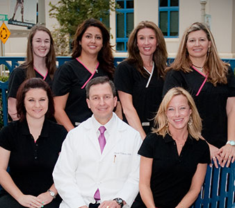Dr. Tillman and his Fort Worth dental staff